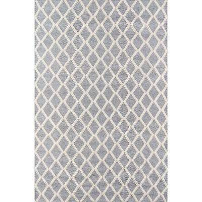 Andes Grey 8 ft. 9 in. X 11 ft. 9 in. Indoor Area Rug