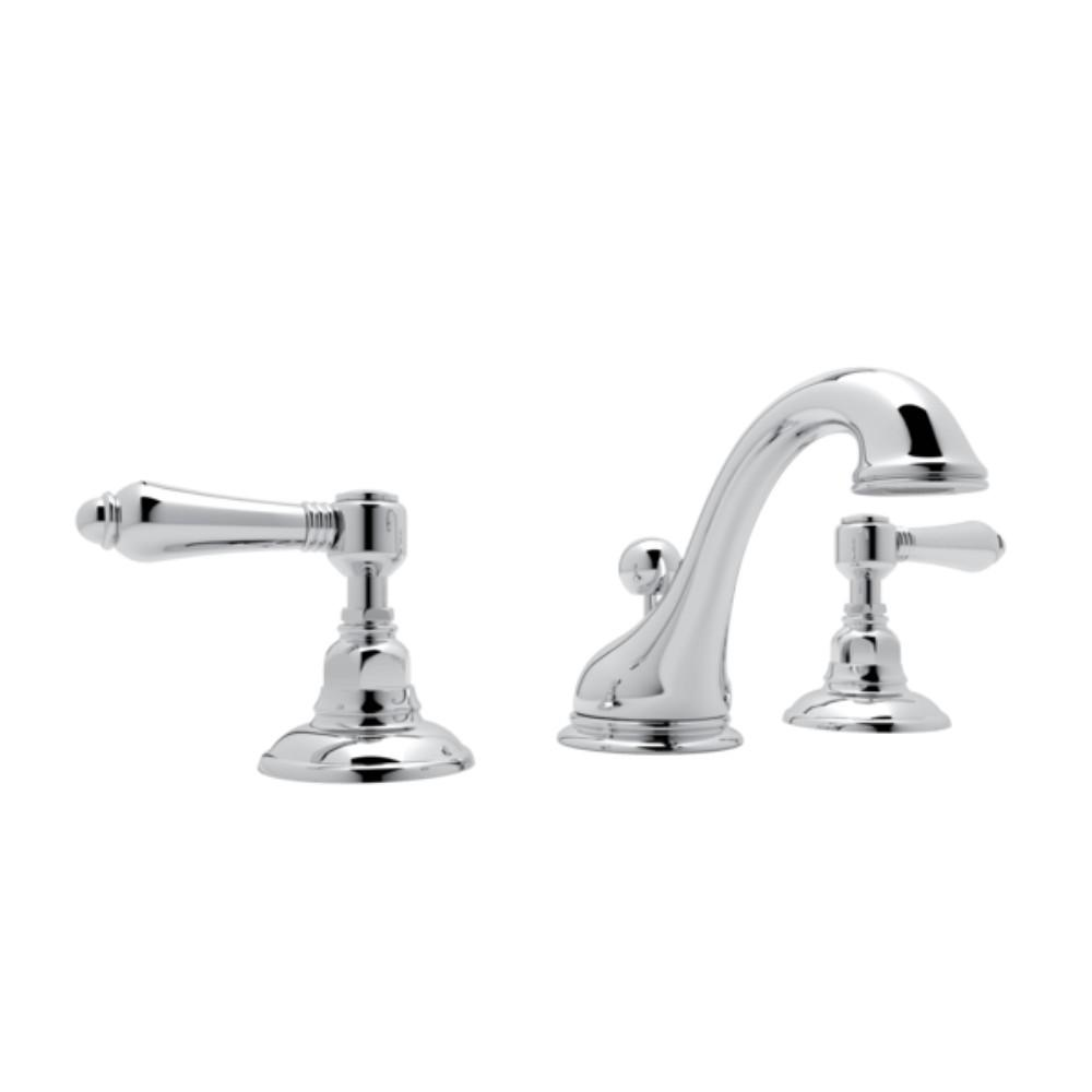 Charmant Rohl Viaggio 8 In. Widespread 2 Handle Bathroom Faucet In Polished Chrome