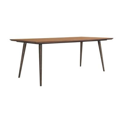 Coco Rustic in Balsamico Oak Wood Dining Table