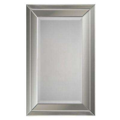 38 in. x 24 in. Beveled Glass Mirror