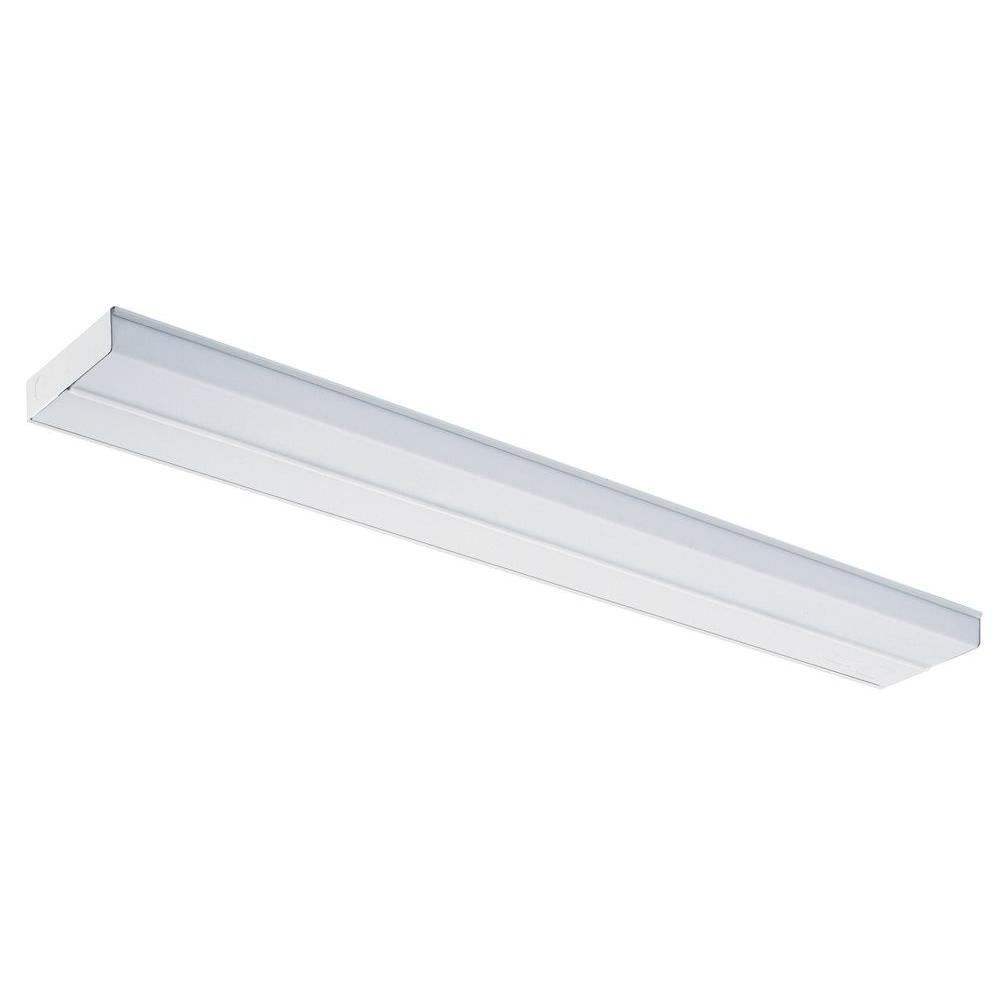 Lithonia Lighting 33 In White T5 Fluorescent Under Cabinet Light