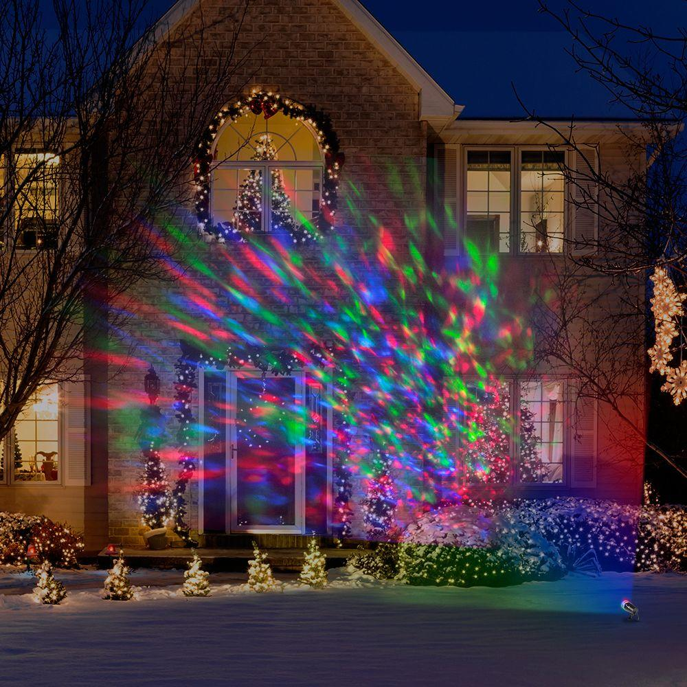 Christmas Light Projectors.Lightshow Applights Projection Spot Light Stake