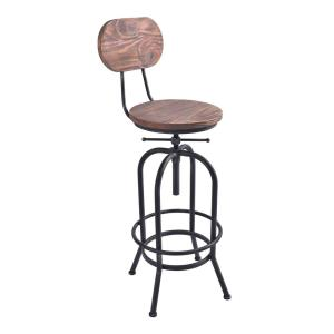 Prime Todays Mentality Archer Industrial 41 47 In Silver Brushed Squirreltailoven Fun Painted Chair Ideas Images Squirreltailovenorg