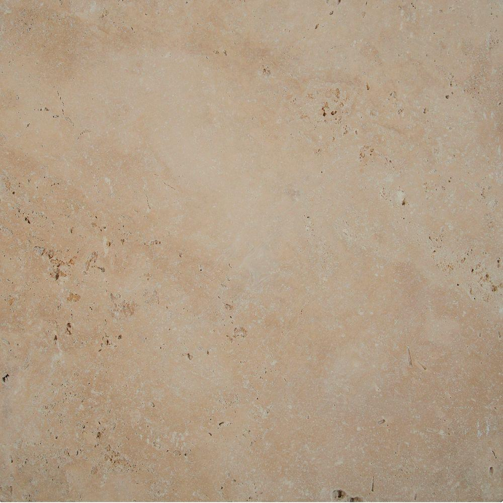MSI 16 in. x 16 in. x 1.18 in. Tuscany Beige Tumbled Travertine Paver Tile (60-Pieces/106.8 sq. ft./Pallet)