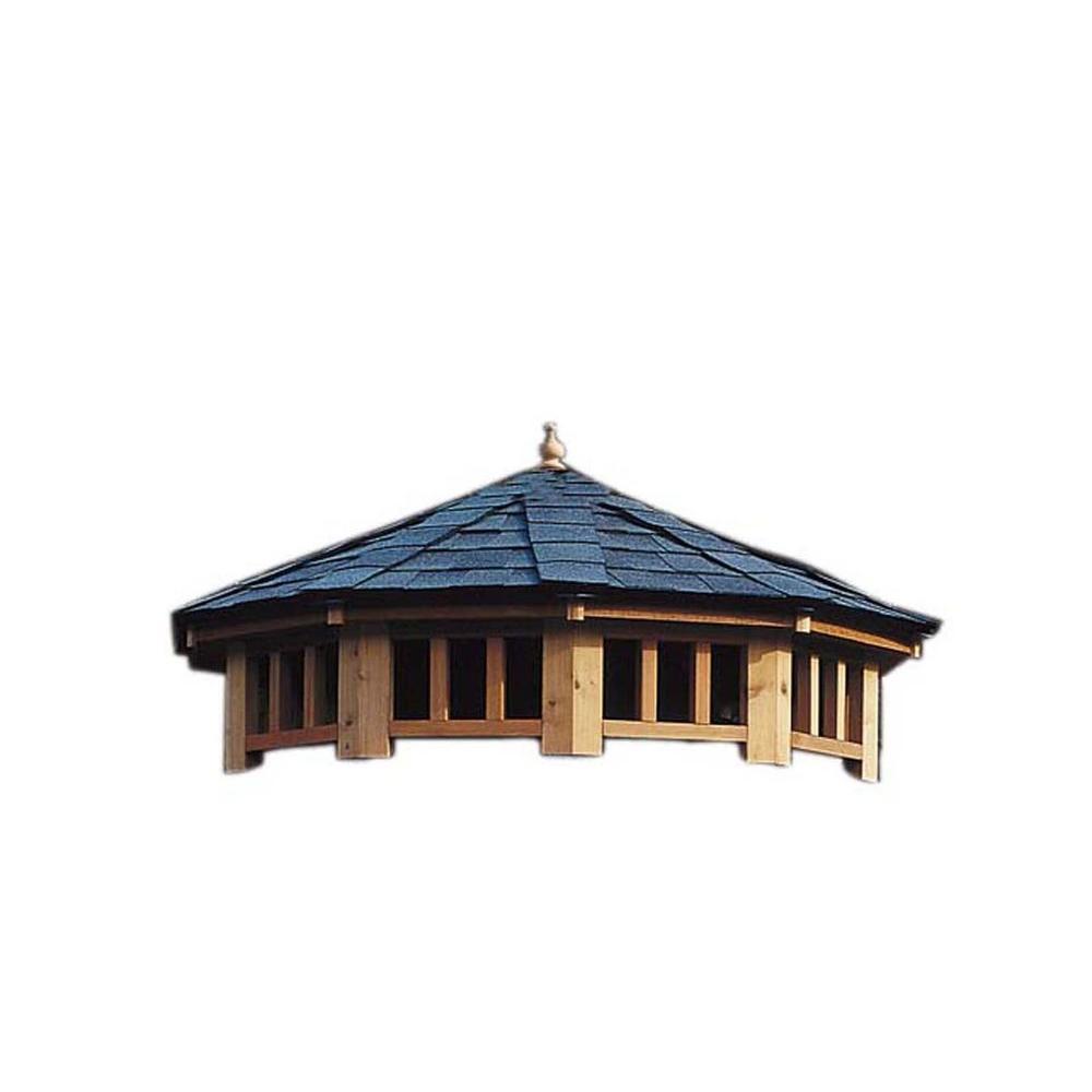 San Marino 12 ft. 2-Tier Gazebo Roof