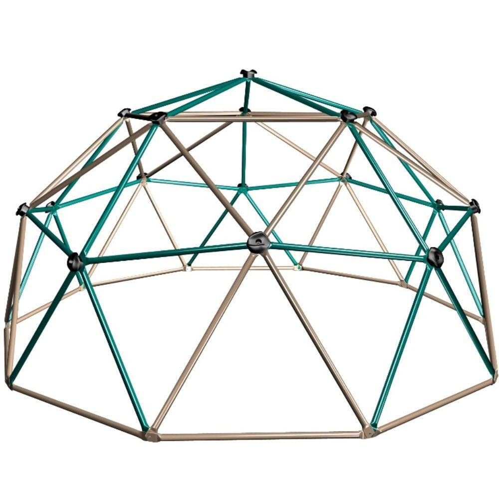 how to draw a 1v1 geodesic dome in 3d
