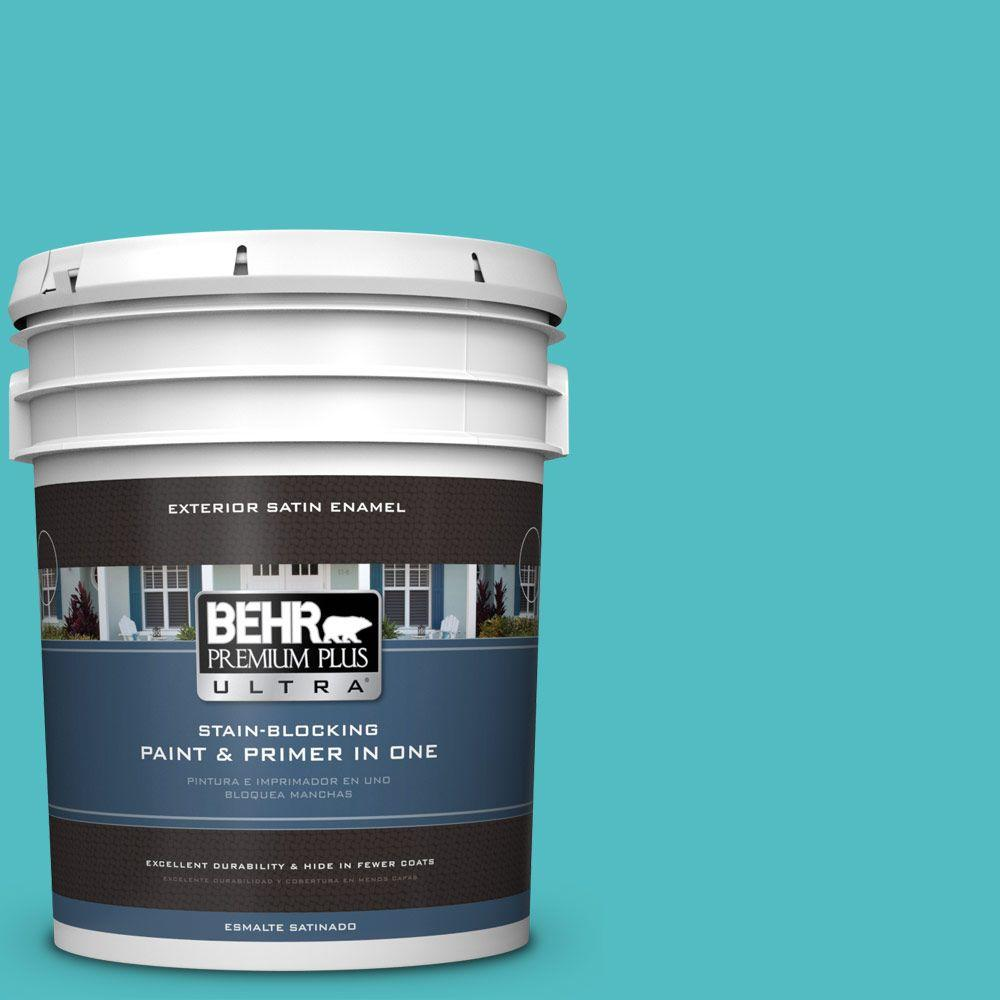 BEHR Premium Plus Ultra Home Decorators Collection 5-gal. #hdc-WR14-6 North Wind Satin Enamel Exterior Paint
