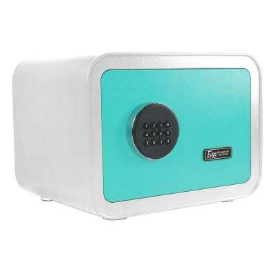 Edge Series 0.86 cu. ft. Electronic Personal Security Safe inWhite/Blue