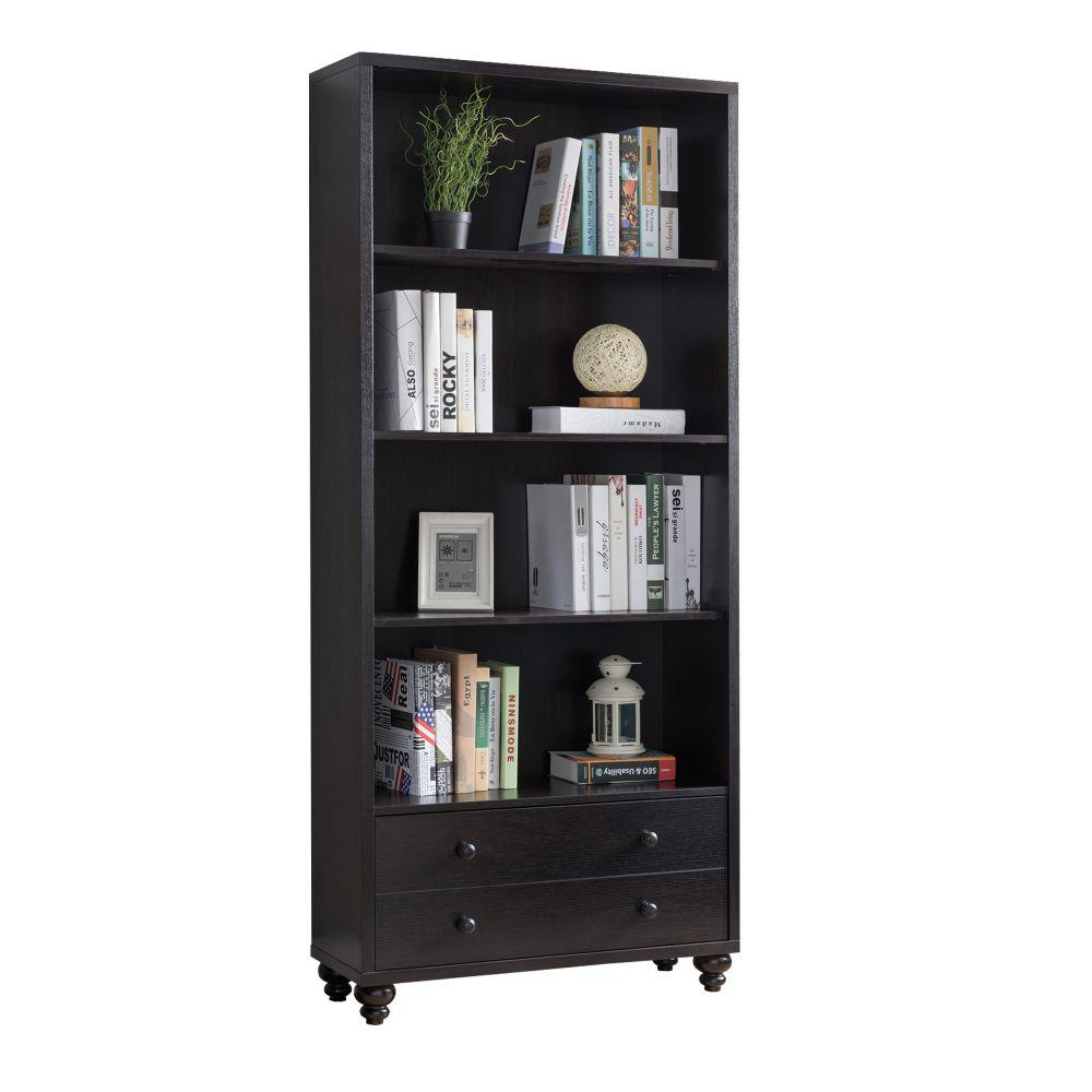 Benjara Brown Wooden Display Cabinet Bm179622 The Home Depot