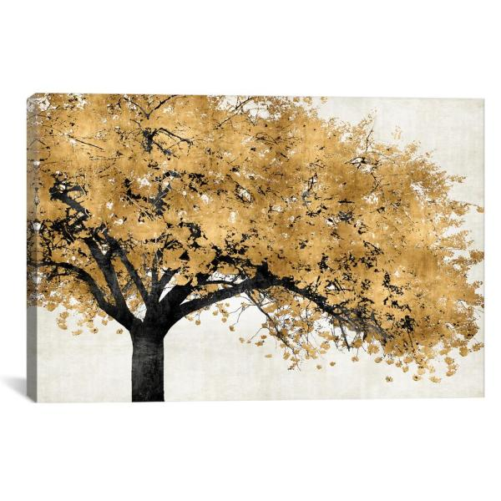 Golden Blossoms by Kate Bennett Wall Art