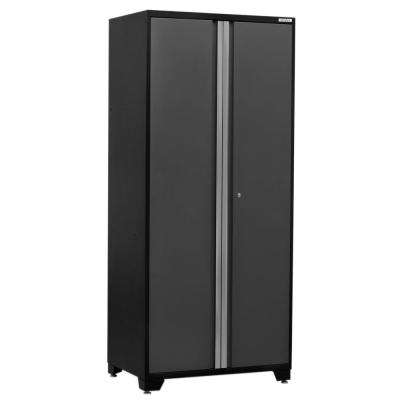 Pro 3 Series 85 in. H x 36 in. W x 24 in. D 18-Gauge Welded Steel 36 in. Multi-Use Locker in Gray