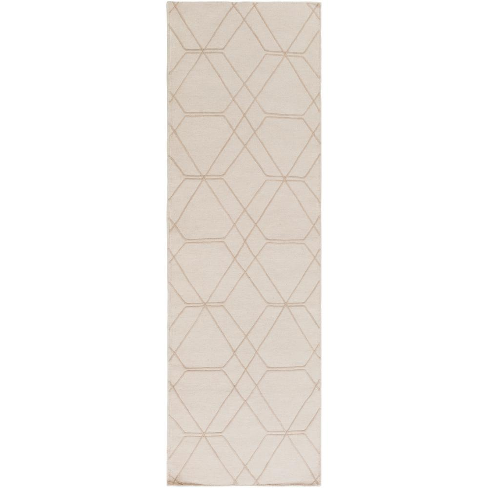 Branwen Cream 3 ft. x 8 ft. Runner Rug