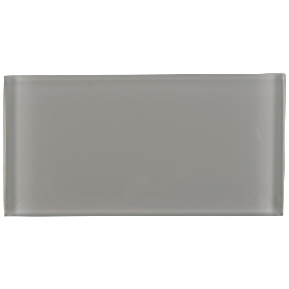 Msi Oyster Gray 3 In X 6 Gl Wall Tile 1 Sq Ft Case
