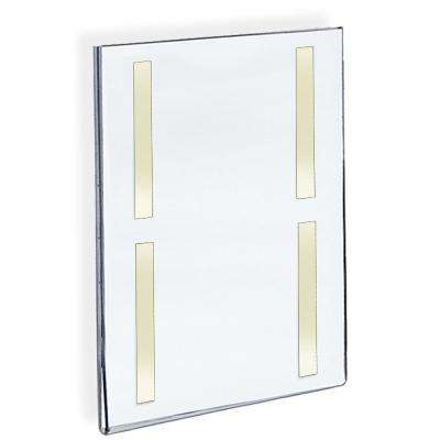 11 in. x  17 in. Acrylic Clear Wall U Frame with Adhesive Tape