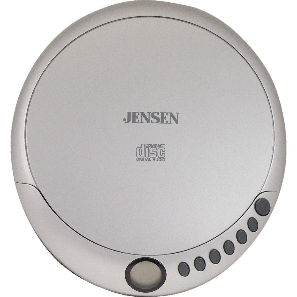 JENSEN Personal CD Player with Stereo Headphones-DISCONTINUED