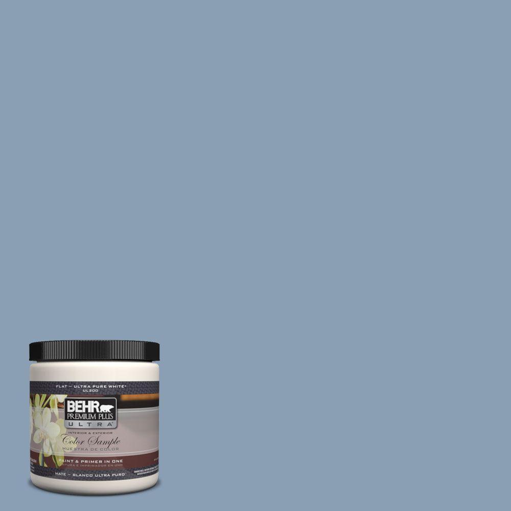 BEHR Premium Plus Ultra 8 oz. #UL240-17 China Silk Interior/Exterior Paint Sample
