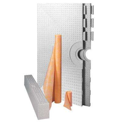 Kerdi-Shower-Kit 48 in. x 48 in. Kit without Drain