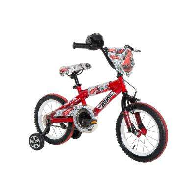 14 in. Boys Bike Hot Wheels