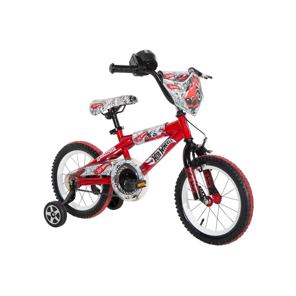 14 in. Boys Bike Hot Wheels