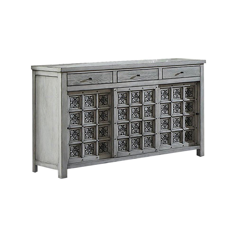 Pantaleon Antique White Dresser