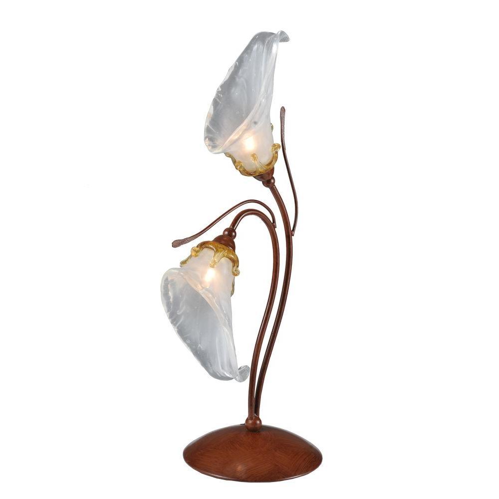 Illumine 2 Light Calla Lily Accent Lamp