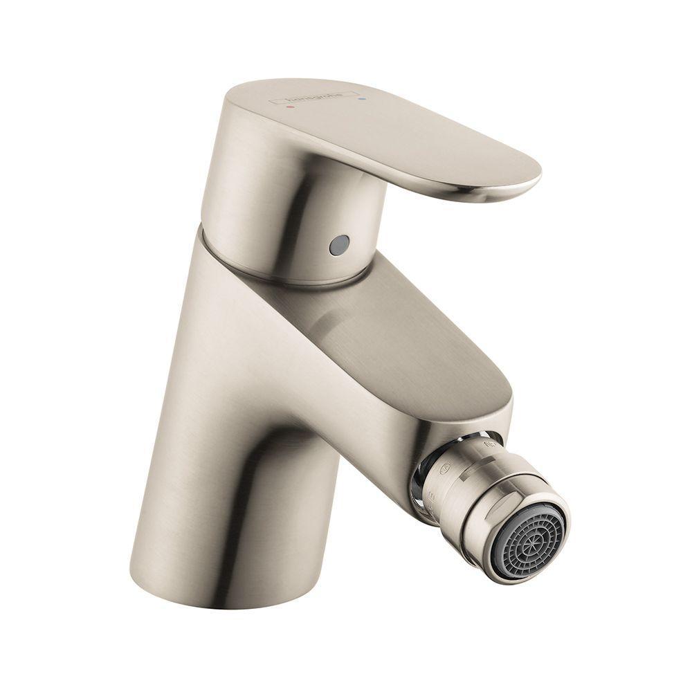 Focus E 1-Handle Bidet Faucet in Brushed Nickel
