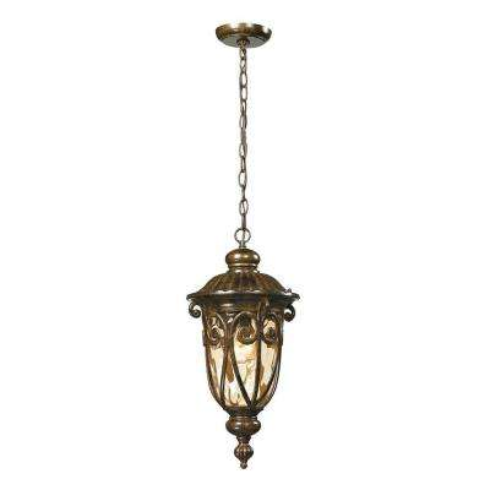 Chantal Collection 1-Light Hazelnut Bronze Outdoor Pendant