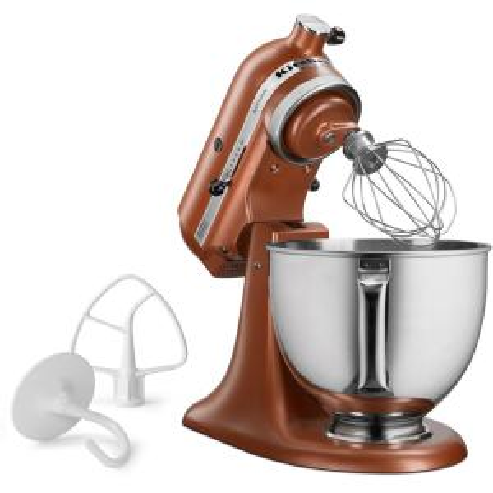Kitchenaid Artisan Series 5 Qt Tilt Back Head Stand Mixer In Copper