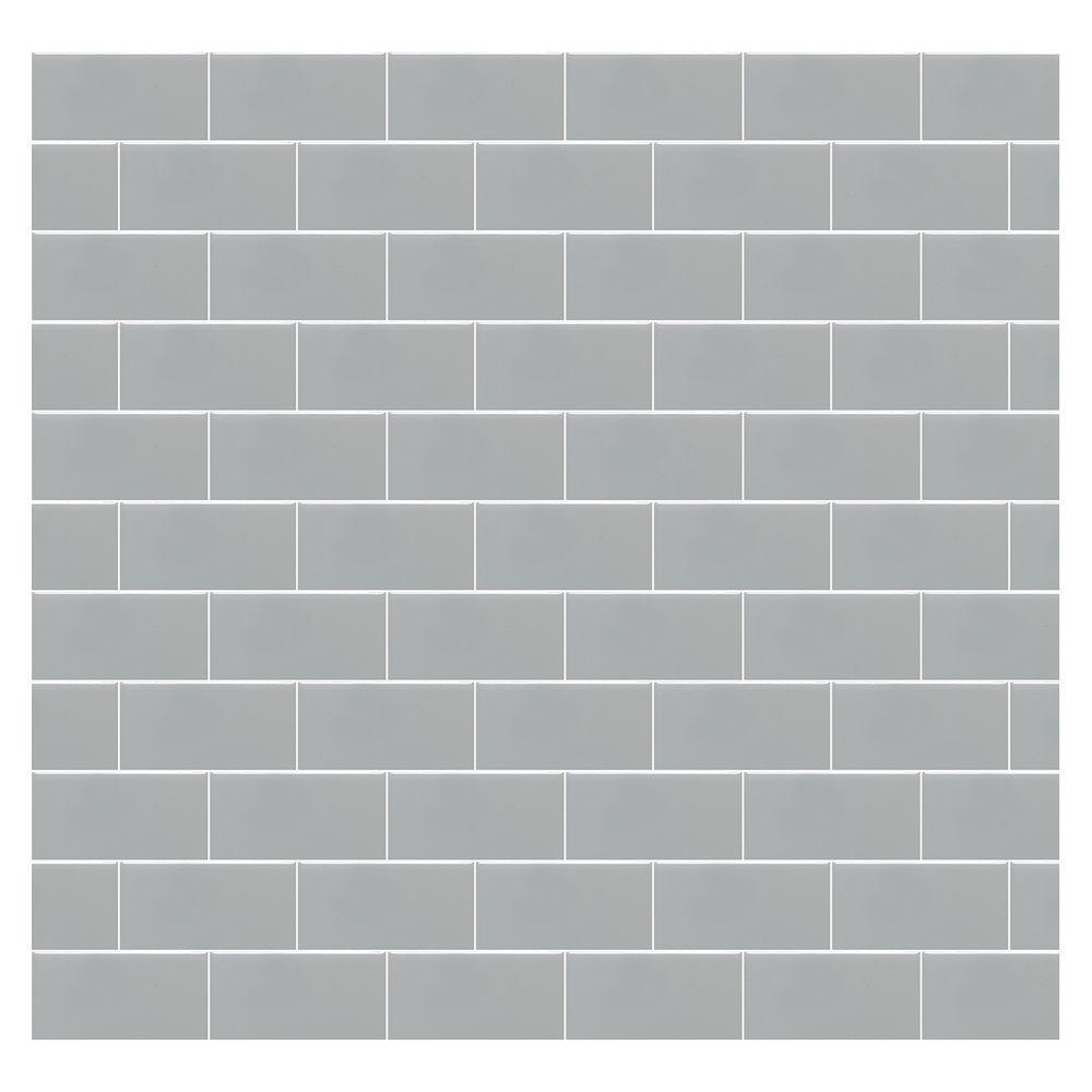 Daltile Rittenhouse Square Matte Desert Gray 3 In X 6 Ceramic Wall Tile 12 5 Sq Ft Case