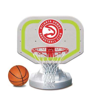 Atlanta Hawks NBA Competition Swimming Pool Basketball Game