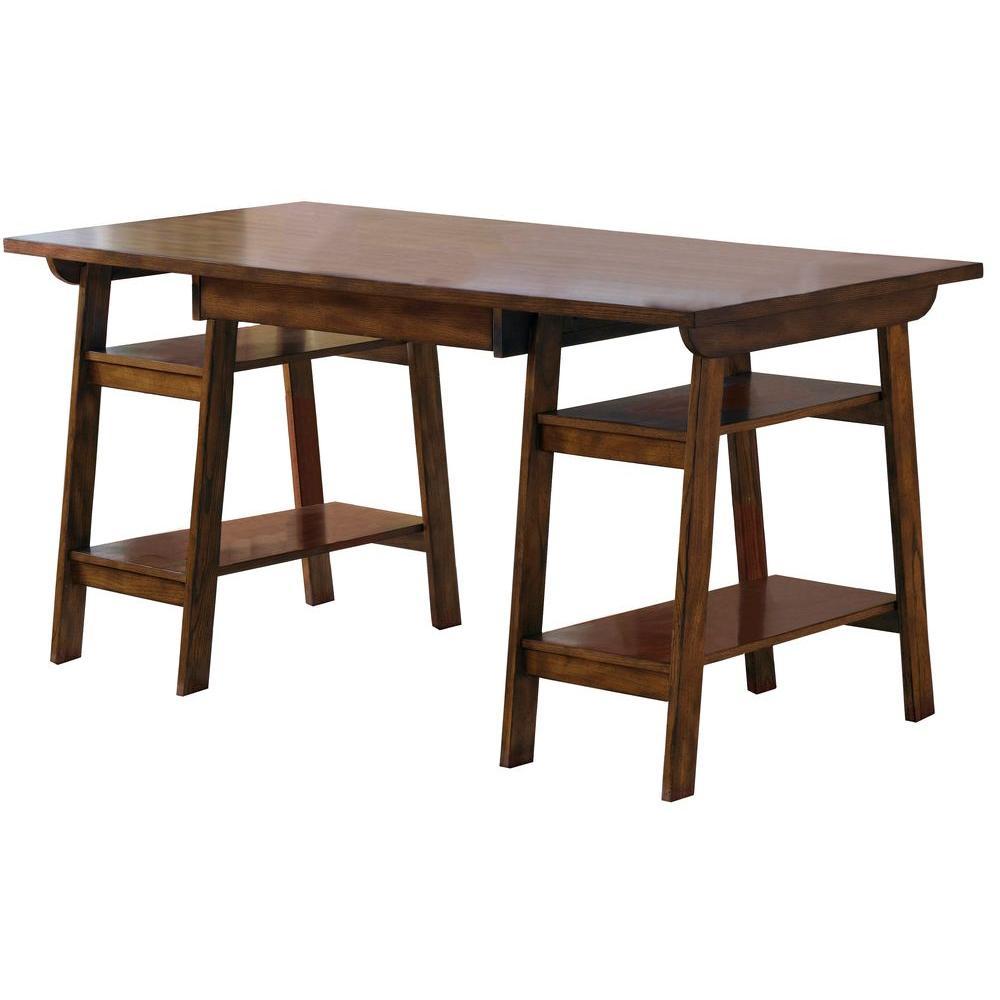Gresham Cherry Traditional Desk