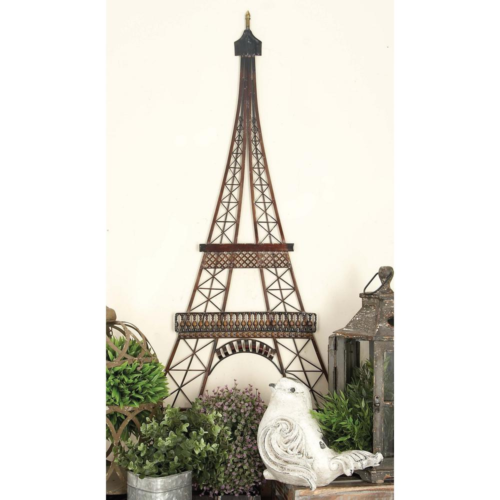 Lovely W Iron Eiffel Tower Wall Decor