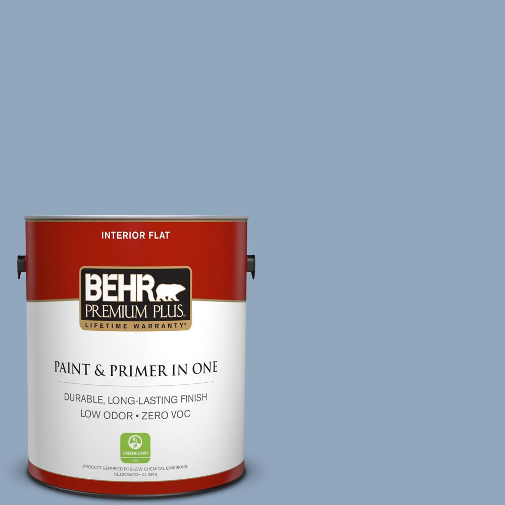 1 gal. #PPU14-08 Paris Zero VOC Flat Interior Paint