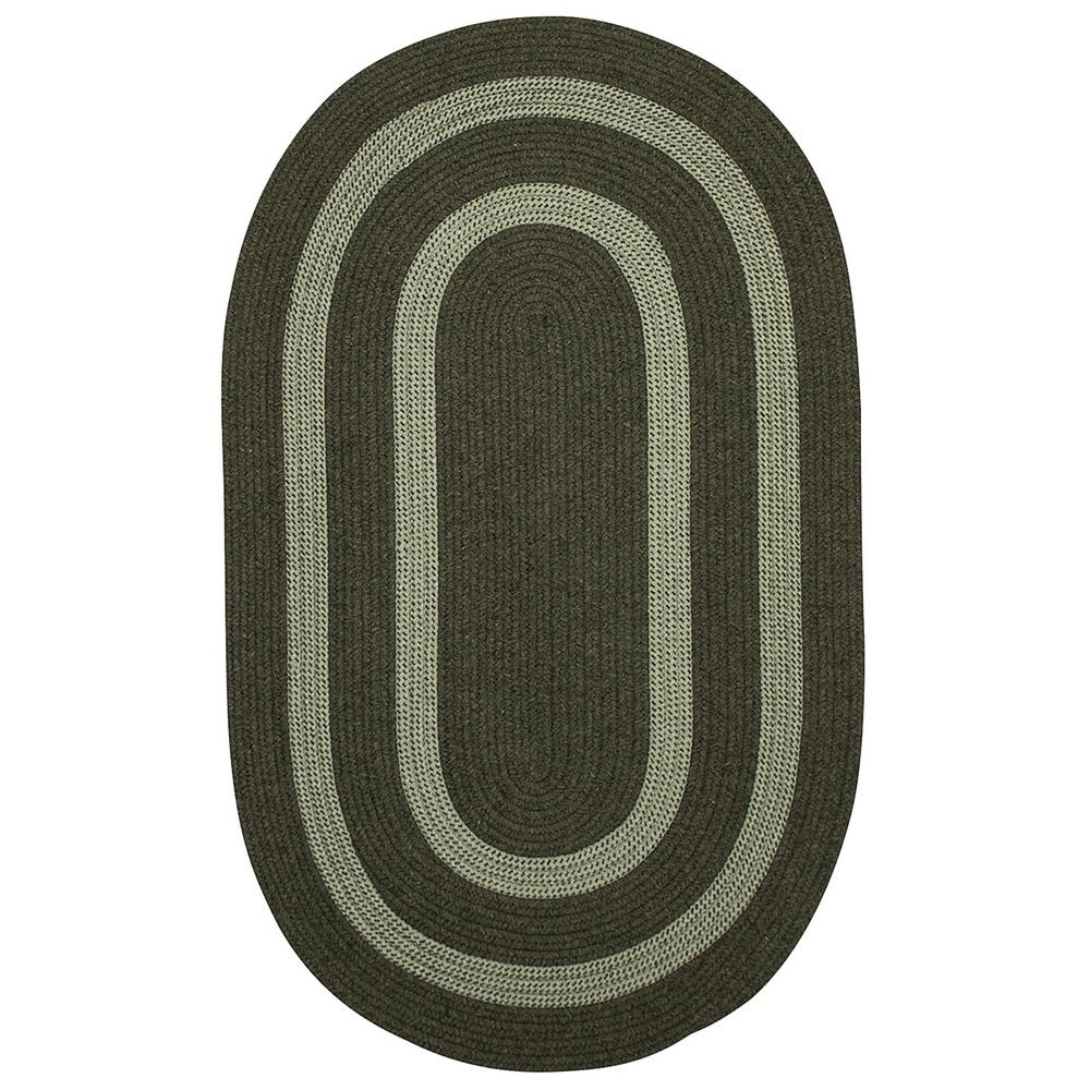 Paige Olive 2 ft. x 3 ft. Oval Accent Rug
