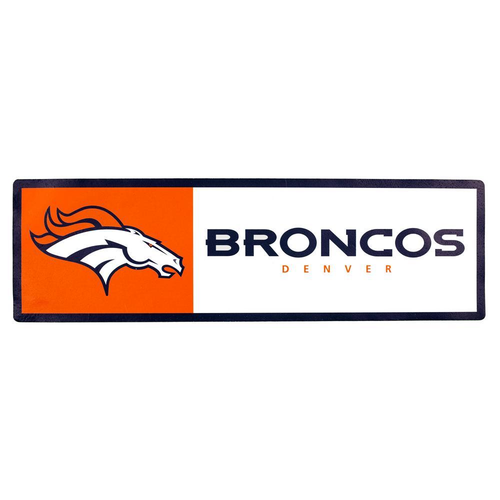 NFL Denver Broncos Outdoor Step Graphic