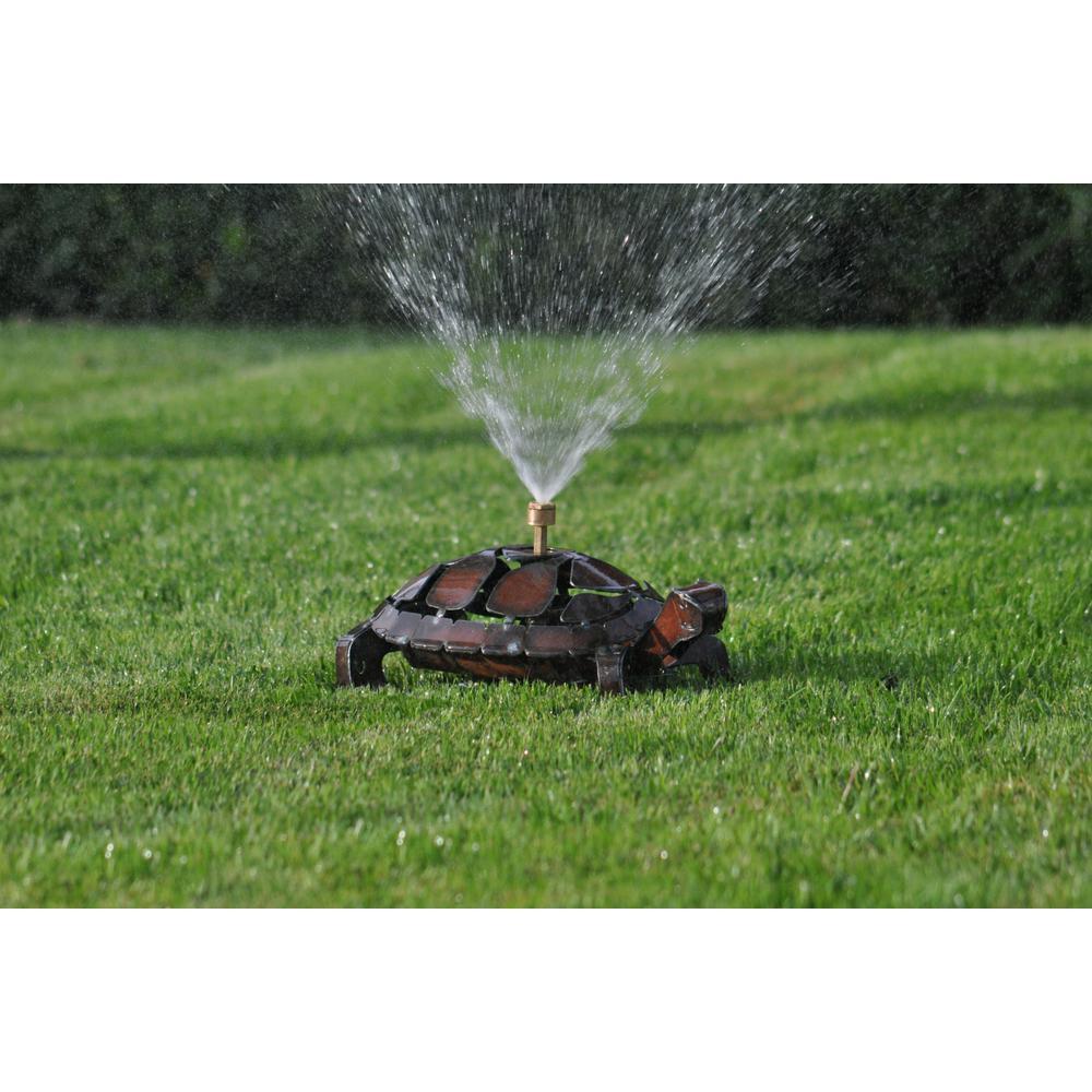 Rustic Turtle Sprinkler