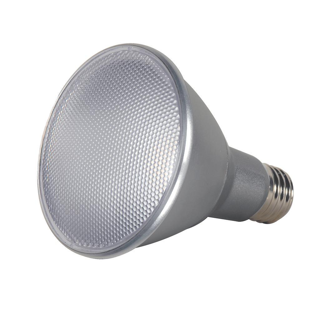 75-Watt Equivalent PAR30 Long Neck Spot LED Light Bulb Daylight