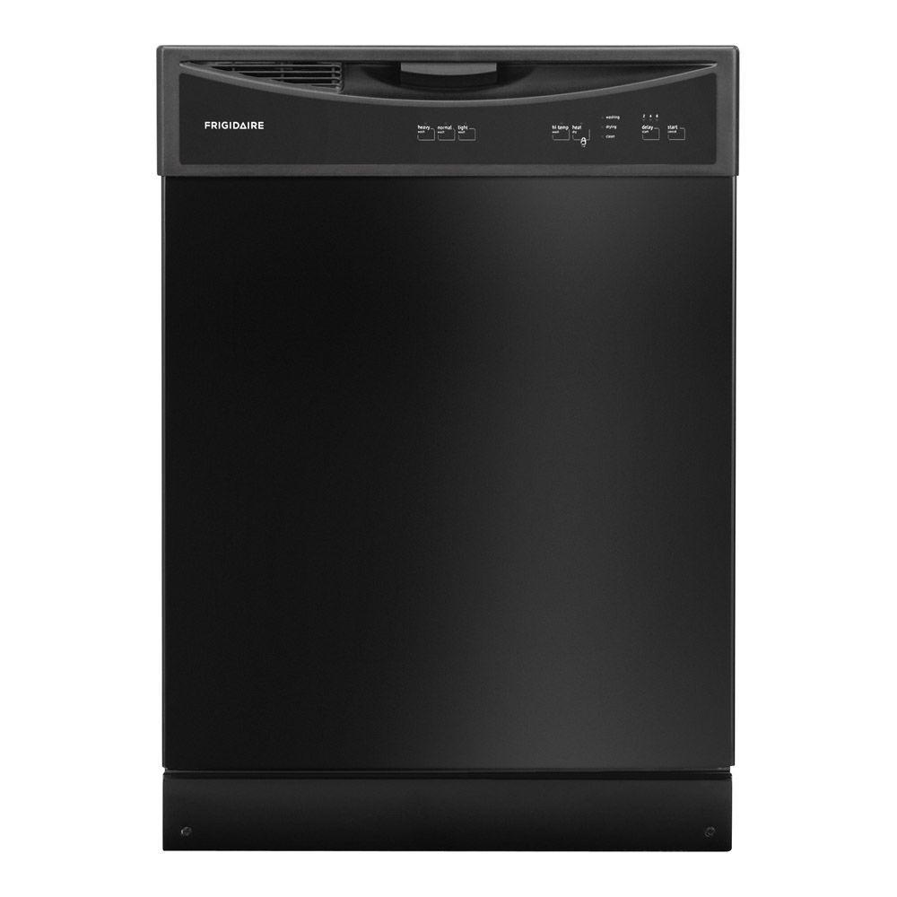 Frigidaire Front Control Tall Tub Dishwasher in Black