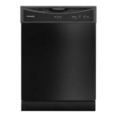 Front Control Tall Tub Dishwasher in Black