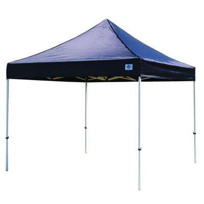 Festival 10 ft. W x 10 ft. D Instant Canopy in Black