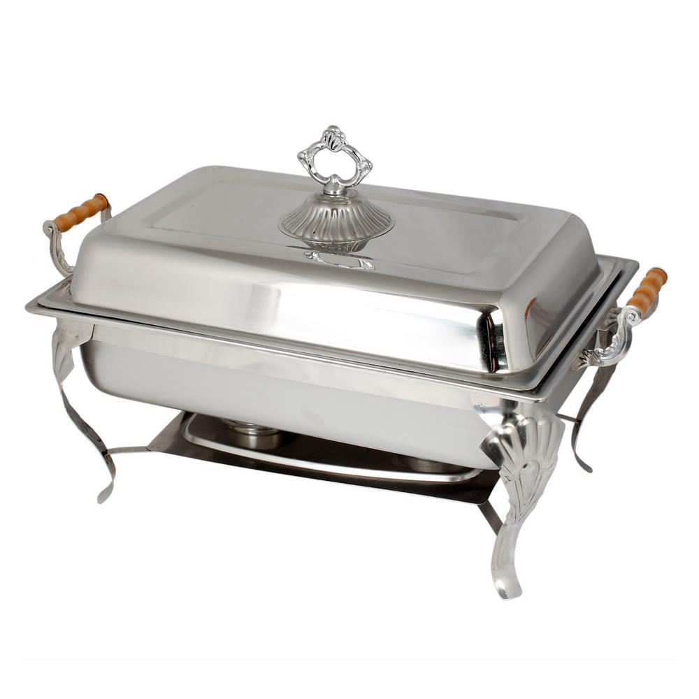 Restaurant Essentials 8 Qt. Full Size Wood Handle Set 849851005952
