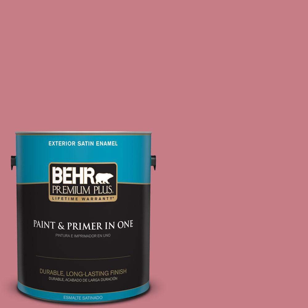 BEHR Premium Plus 1-gal. #M150-5 Enamored Satin Enamel Exterior Paint