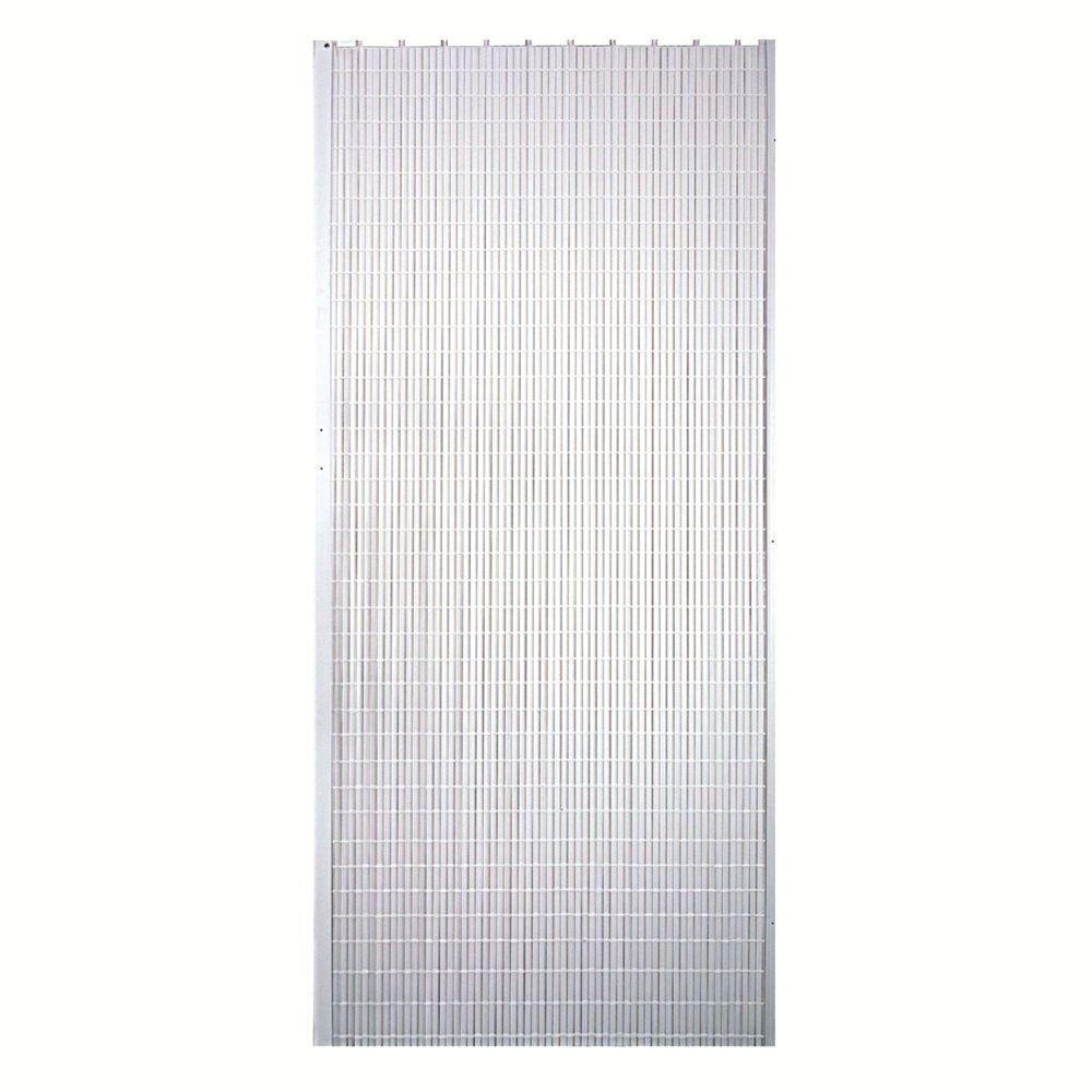 horizon vinyl white accordion door
