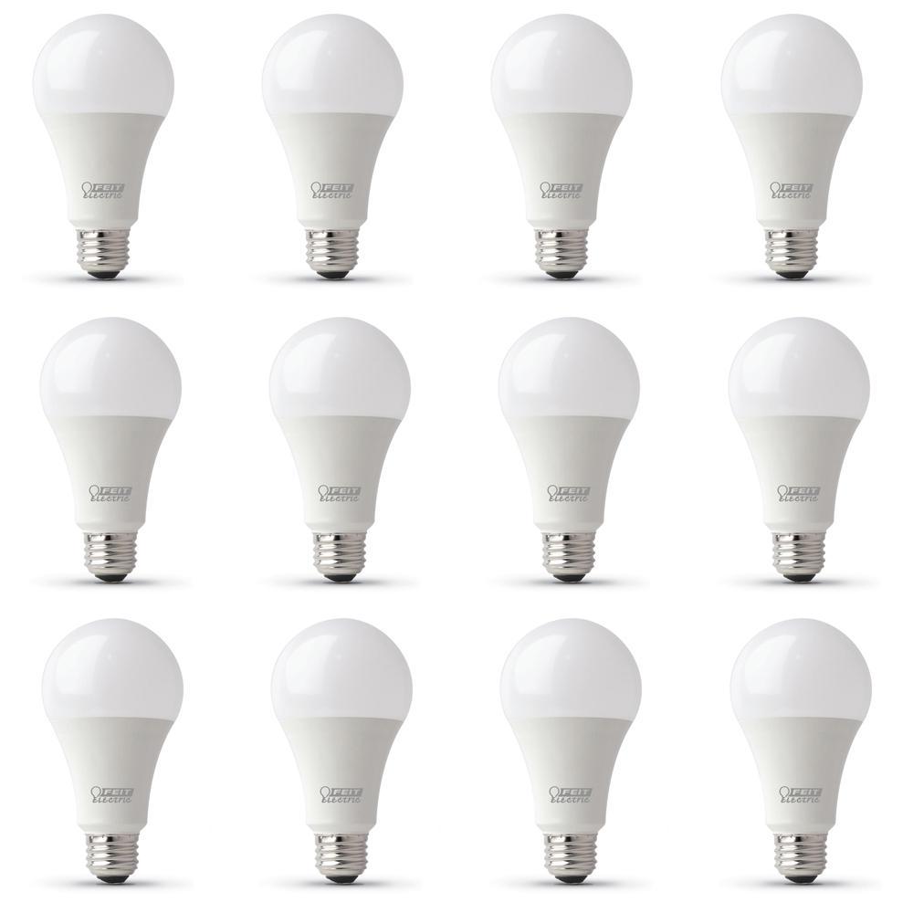 100-Watt Equivalent A21 CEC Title 24 Compliant LED ENERGY STAR 90+ CRI Light Bulb, Daylight (12-Pack)