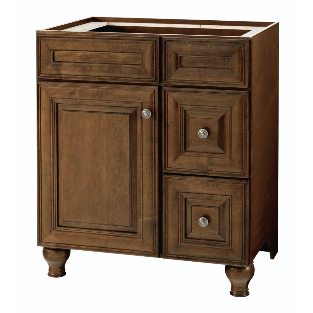 Home Decorators Collection Templin 30 In. W Bath Vanity Cabinet Only In  Coffee