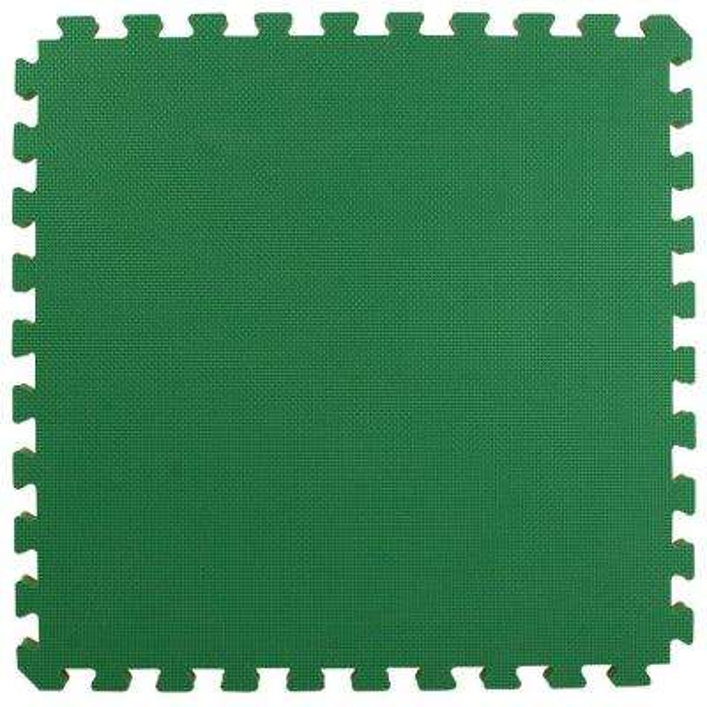 Home Sport and Play Green/Brown 24 in. x 24 in. x 7/8 in. Foam Interlocking Floor Tile (Case of 25)