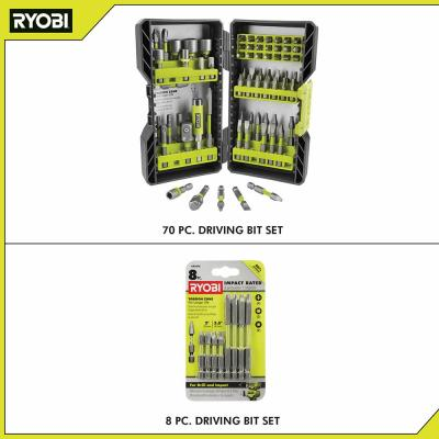 Impact Rated Driving Kit (70-Piece) with BONUS (8-Piece) Impact Rated Driving Kit