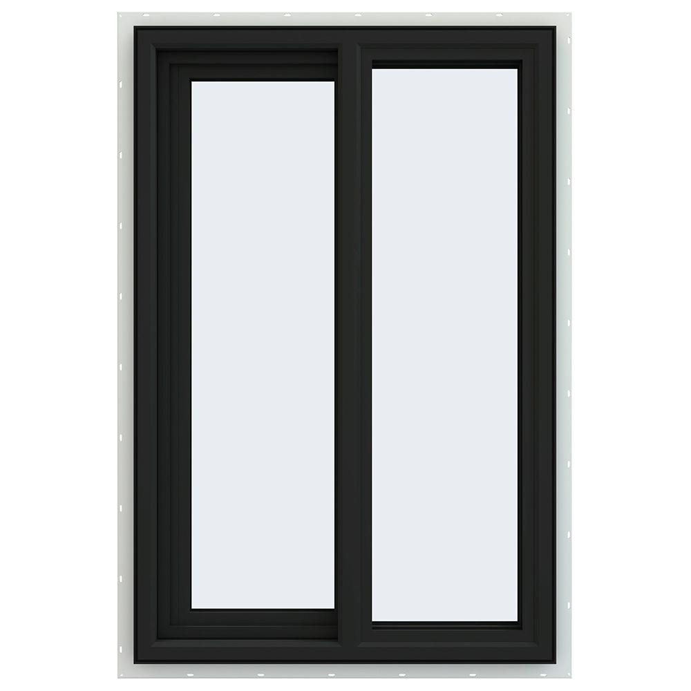 23.5 in. x 35.5 in. V-4500 Series Left-Hand Sliding Vinyl Windows