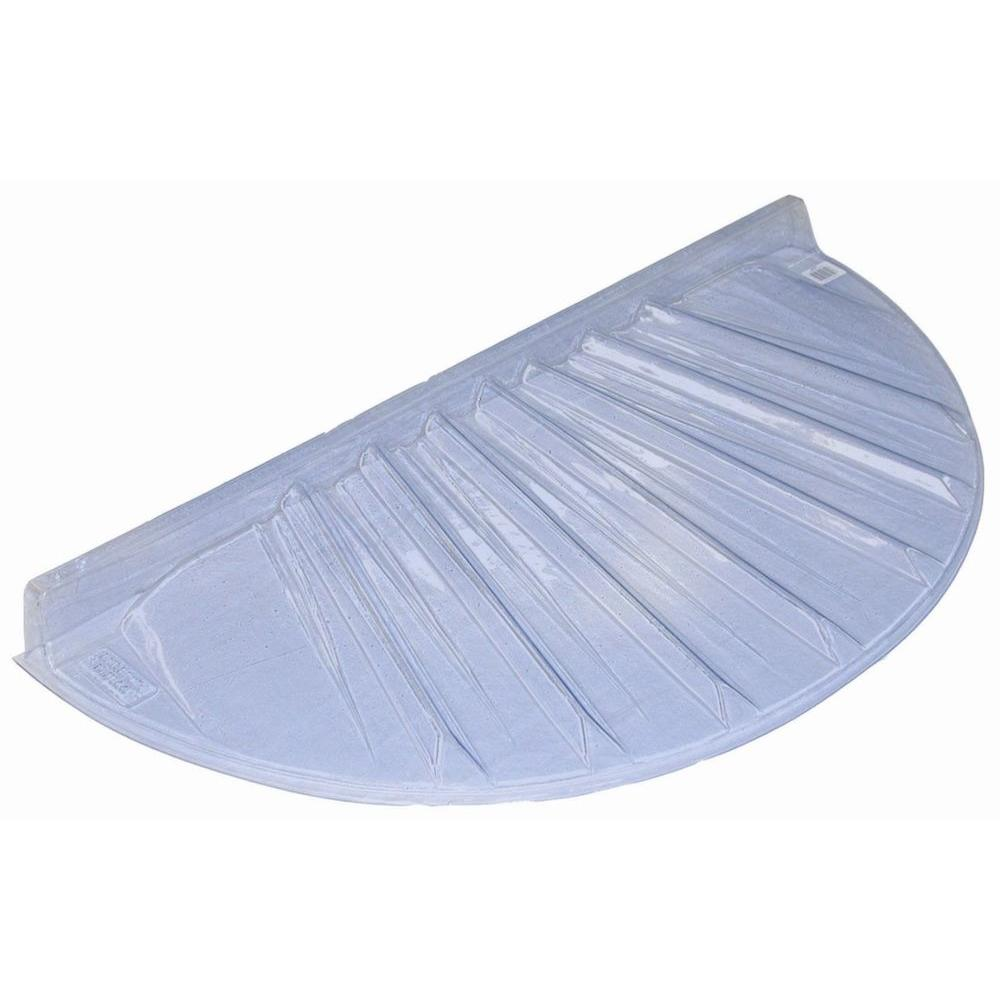 17 in. x 4 in. Polyethylene Circular Low Profile Window Well