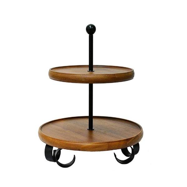 222 Fifth Henley Brown 2-Tier Server Stand 5088BR910A1K90